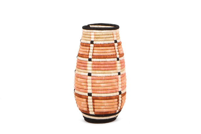 Global Vase in Peach