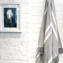 Load image into Gallery viewer, Nolita Throw Blanket in Light Gray