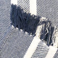 Load image into Gallery viewer, Nolita Throw Blanket in Navy Blue