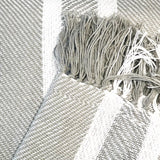 Nolita Throw Blanket in Light Gray