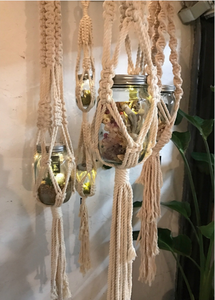 Macrame Plant Hanger in Natural