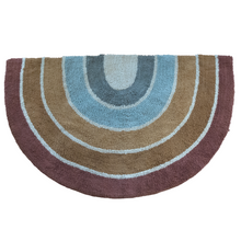Load image into Gallery viewer, Rainbow Multi Color Cotton Accent Rug