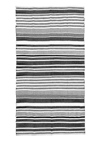 black-white-striped-accent-rug