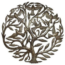 Load image into Gallery viewer, Steel Drum Art - 24 inch Tree of Life - Croix des Bouquets