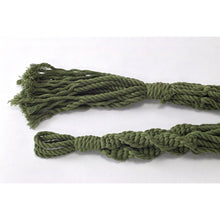 Load image into Gallery viewer, macrame-plant-hanger-cotton-green
