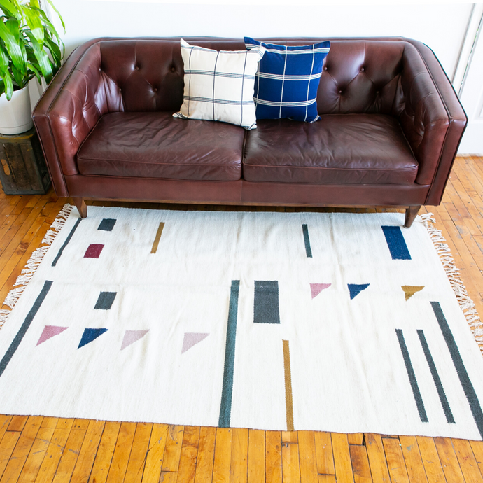 Handwoven Wool Rug