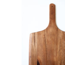 Load image into Gallery viewer, acacia-wood-serving-board-paddle-shape