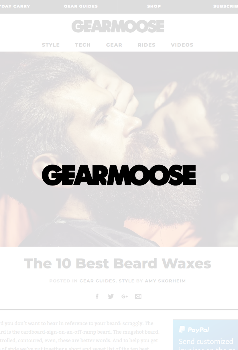 GearMoose - The 10 Best Beard Waxes