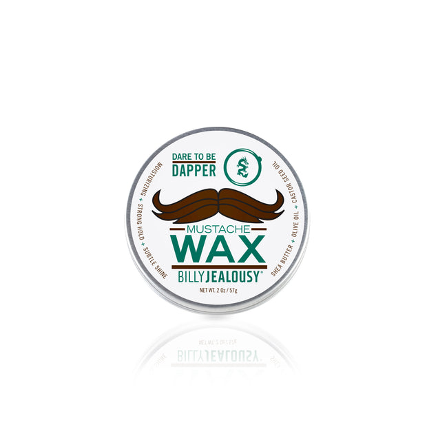 Bulletproof Mustache Wax - 2oz