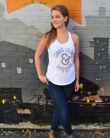 Alternative Apparel Good Vibes Tank | The Nutritious Nerd