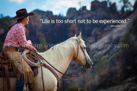 Life is too short not to be experienced.