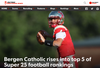 Bergen Catholic rises into top 5 of USA Today Super 25 football rankings
