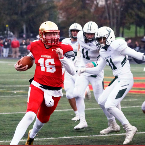 Back To Metlife For Bc Crusaders Cruise Past Delbarton To Reach