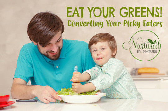 Eat Your Greens! Converting Your Picky Eaters