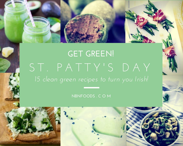 15 Clean Green St. Patty's Day Recipes!