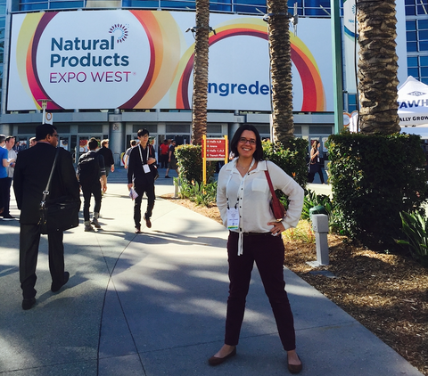 Chelsea at Natural Products Expo