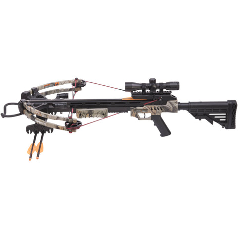 CenterPoint Archery AXCS185BK Compound Crossbow Kit 370fps