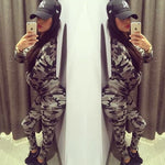 Womens Camouflage 2 Piece Set