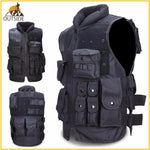 Airsoft Tactical Vest Black