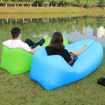 Inflatable sofa Easy to carry Lounger couch multiple colors