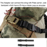 Adjustable Military Tactical Single Point Quick Release Sling