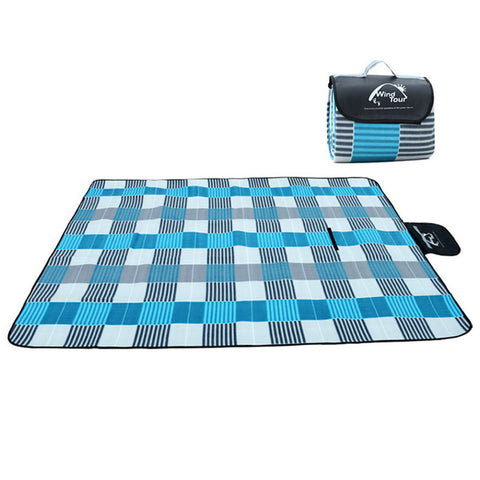 Picnic Mat Plaid Blanket Beach Waterproof Moisture proof 5 colors