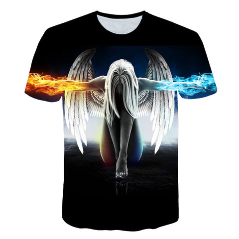 T-shirt Men/women Print T shirt Tops Tees M-5x 12 designs
