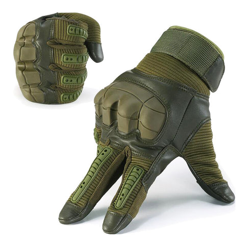 Full Finger Rubber Knuckle Gloves