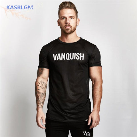 Breathable men's T-shirt or tanks fitness 2018 3 colors