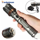 T6 LED Flashlight Rechargeable