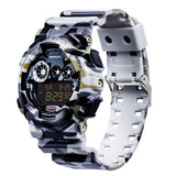 Mens Camouflage Digital Watch
