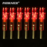 PATHUNTER 10PCS 6.2mm LED Arrow Nock 5 Colors