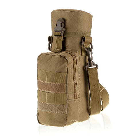 Waterproof Nylon Bottle Pouch Molle Compatible