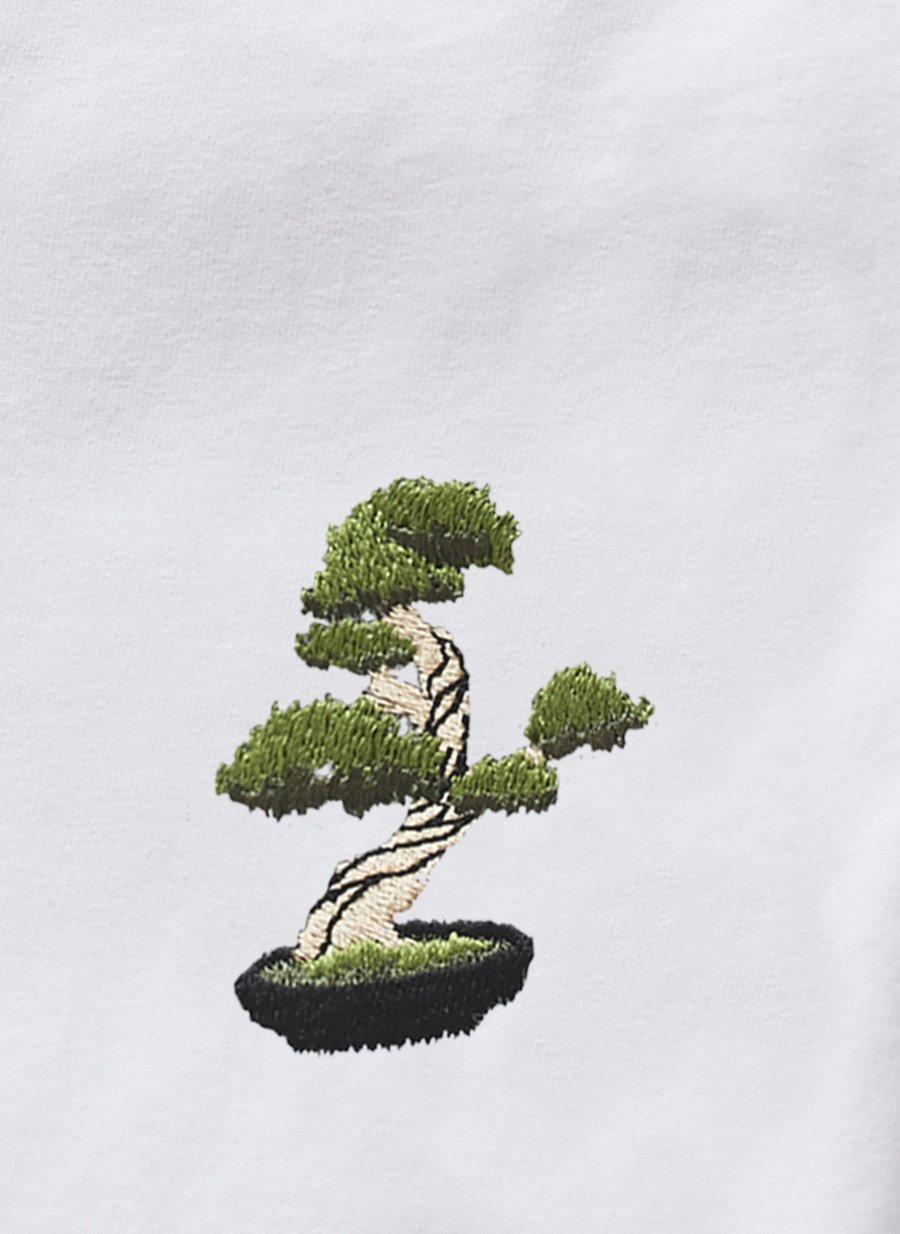 T Shirt | Bonsai Tree | White