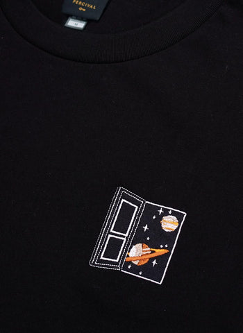Long Sleeve T | Spaceman | Black