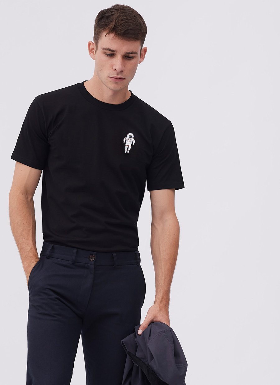 T Shirt | Spaceman | Black