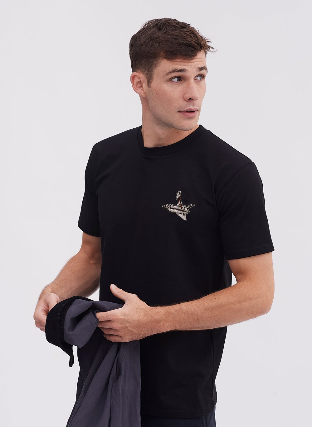 T Shirt | Space Shuttle | Black