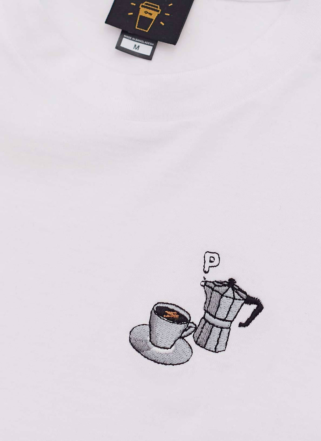 T Shirt | Allpress X Percival Moka Pot