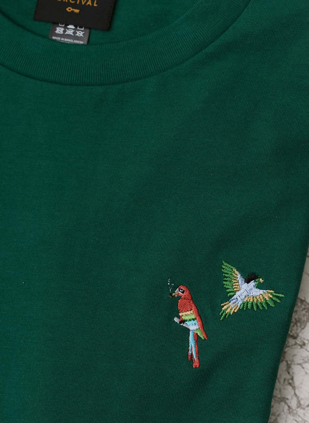 T Shirt | Parrot Bros | Emerald