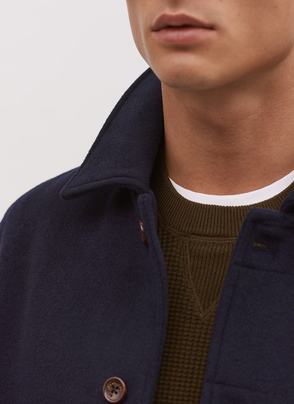 Pea Coat | Navy