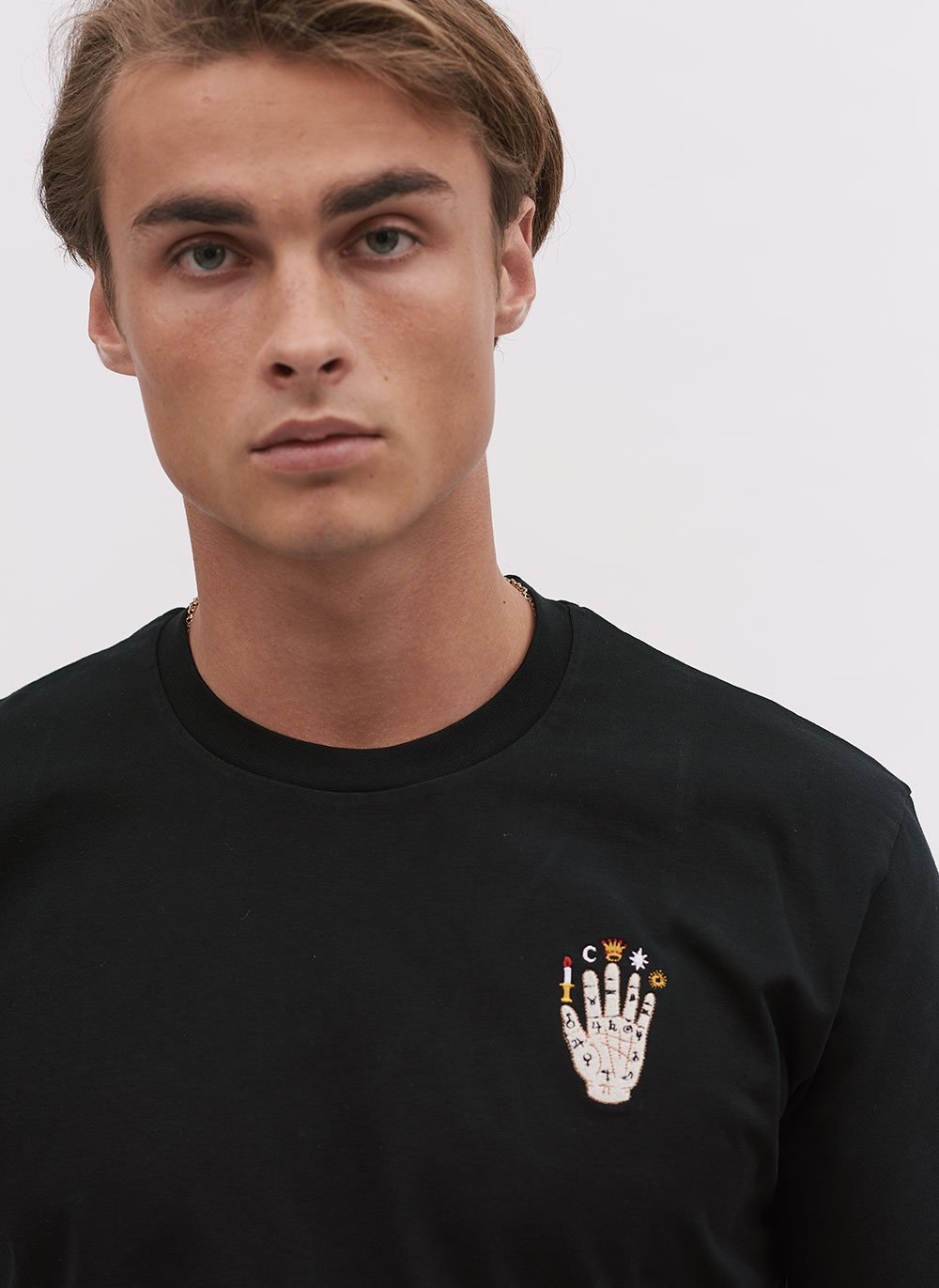 T Shirt | Palmistry | Black
