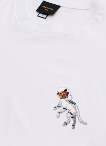Sweatshirt | Space Dog Embroidery | Black
