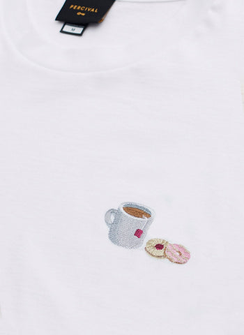 Long Sleeve T Shirt | Itamae Octopus | White
