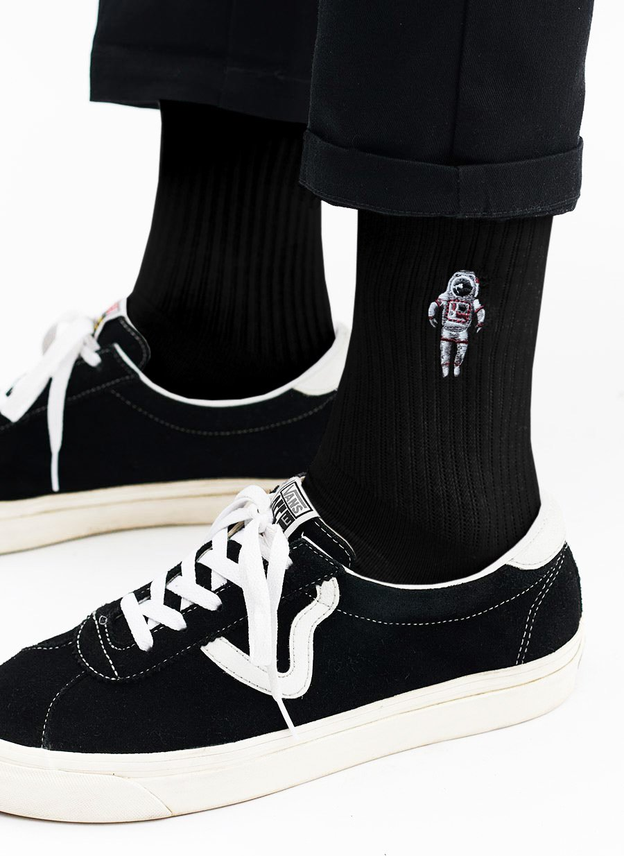 Socks | Spaceman | Black