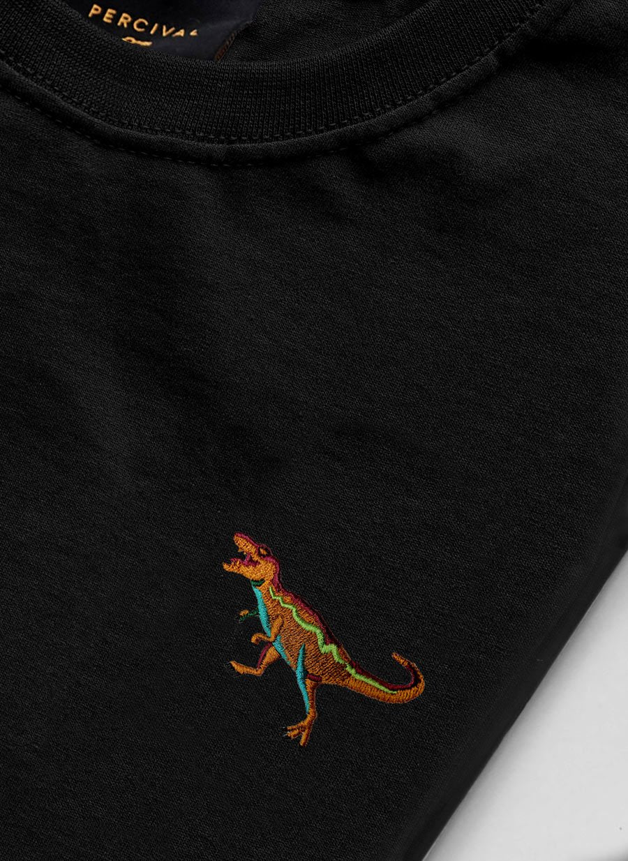T Shirt | T Rex | Black