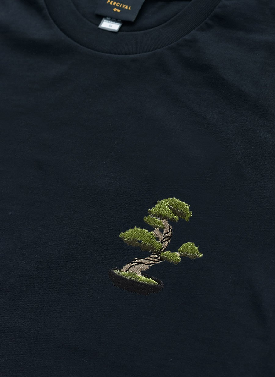 T Shirt | Bonsai Tree | Dark Navy
