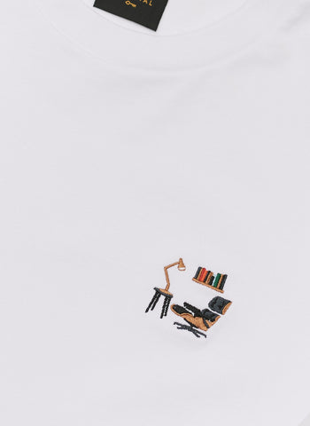 T Shirt | Perci Camera | White