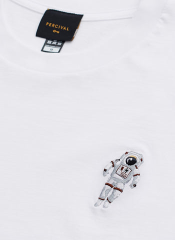 Sweatshirt | Spaceman Embroidery | Heather Grey