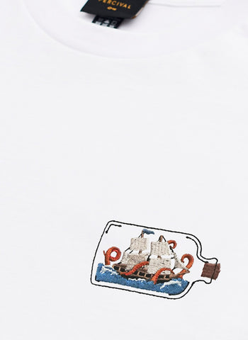T Shirt | Ring of Fire | White