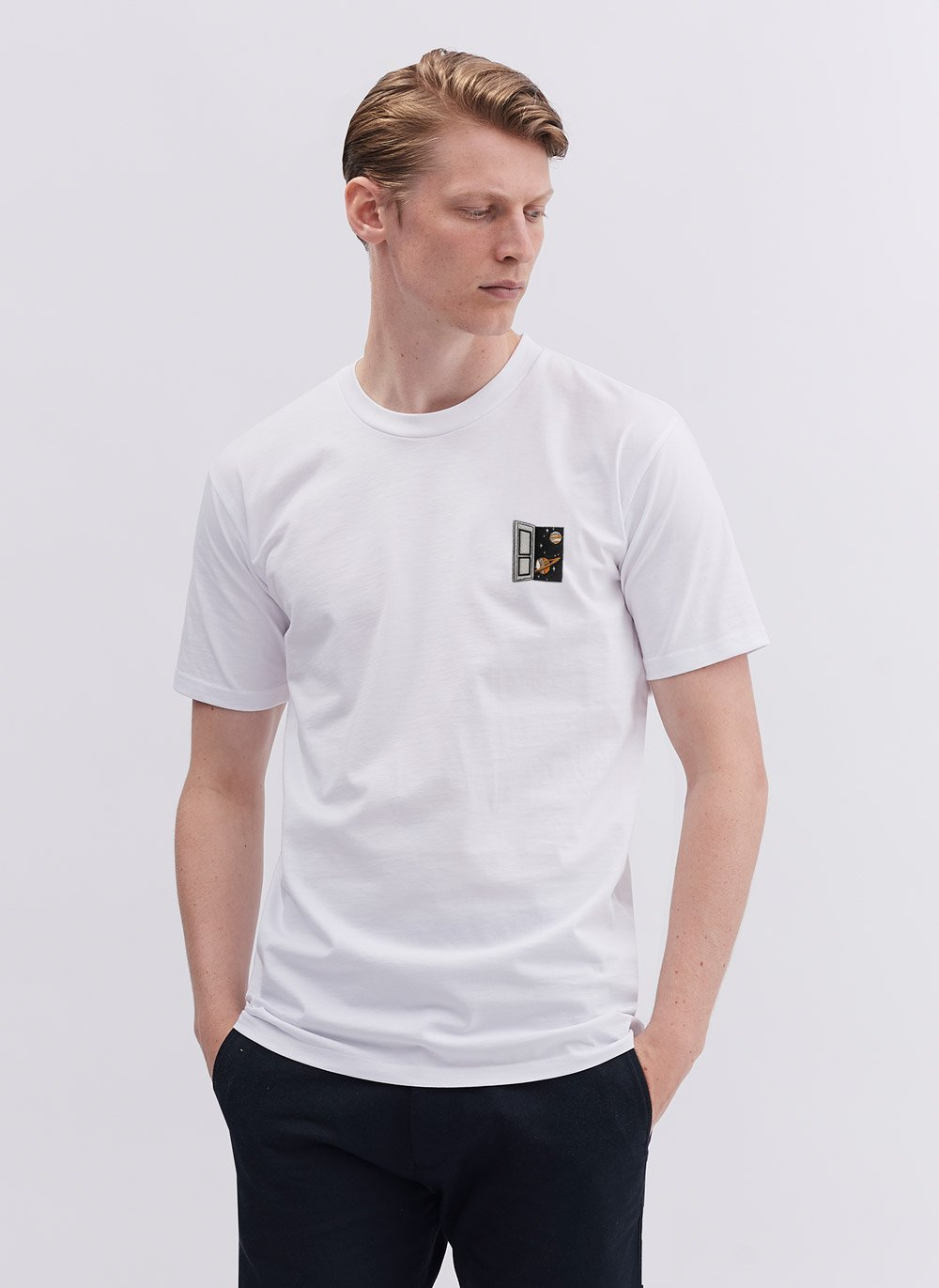 T Shirt | Spacedoor | White